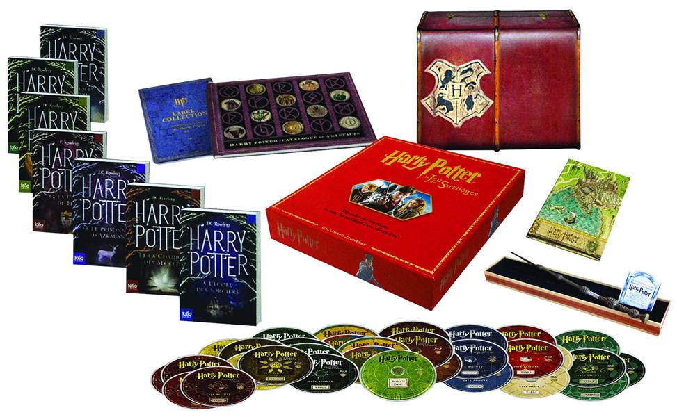 Edition prestige Harry Potter Harry Potter, Vol. 1. Harry Potter à l'école des sorciers Harry Potter, Vol. 2. Harry Potter et la chambre des secrets Harry Potter, Vol. 3. Harry Potter et le prisonnier d'Azkaban Harry Potter, Vol. 4. Harry Potter et la coupe de feu Harry Potter, Vol. 5. Harry Potter et l'ordre du Phénix Harry Potter, Vol. 6. Harry Potter et le prince de Sang-Mêlé Harry Potter, Vol. 7. Harry Potter et les reliques de la mort Harry Potter